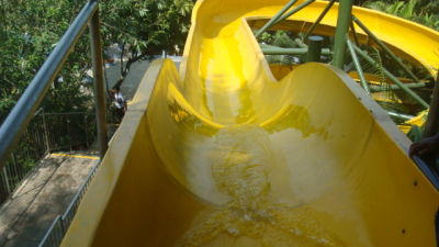 Water Rides - Snake Sliders at Wonderla Kochi Amusement Park