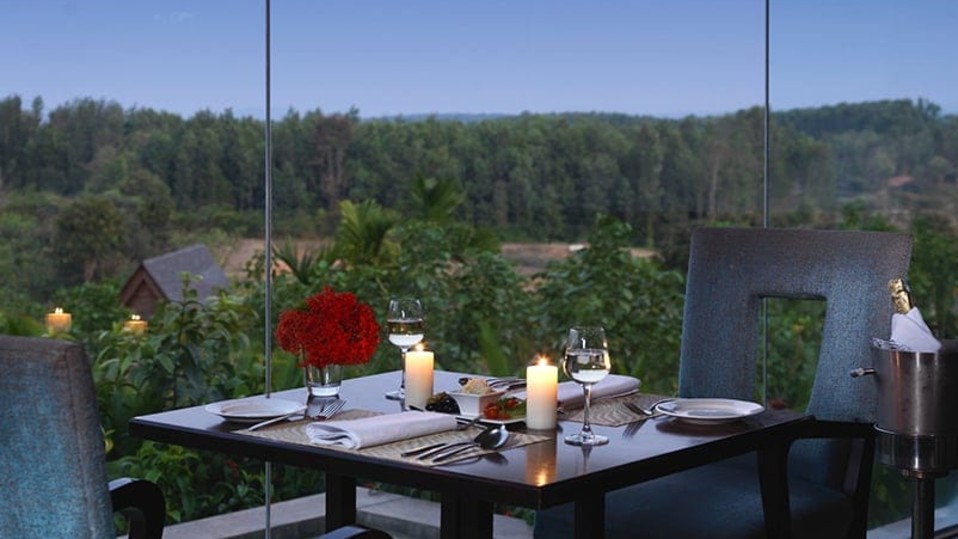 odyssey-at-the-serai-chikmagalurODYESSEY the restaurant at The Serai Chikamagalur, Luxury Resorts in Chikmagalur