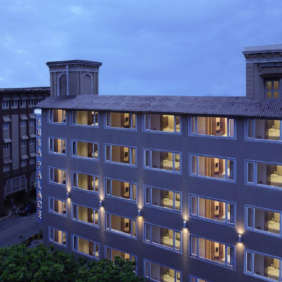 alt-text Exterior  | Hotel Suba Palace, Mumbai