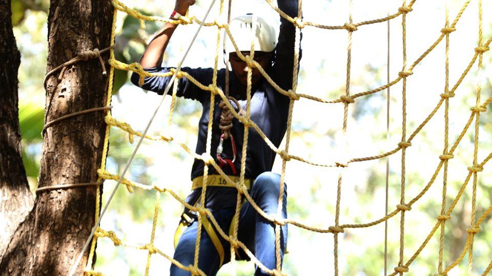 Net Climbing - Sajan