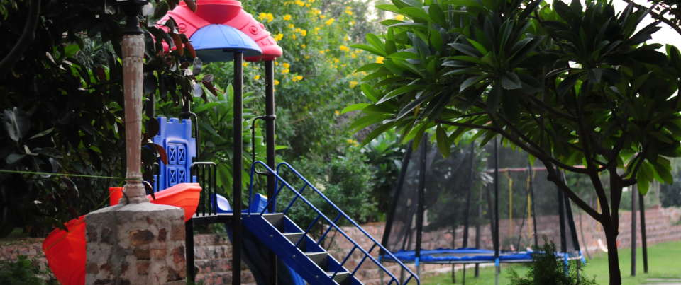 a day at tiraja fort play area
