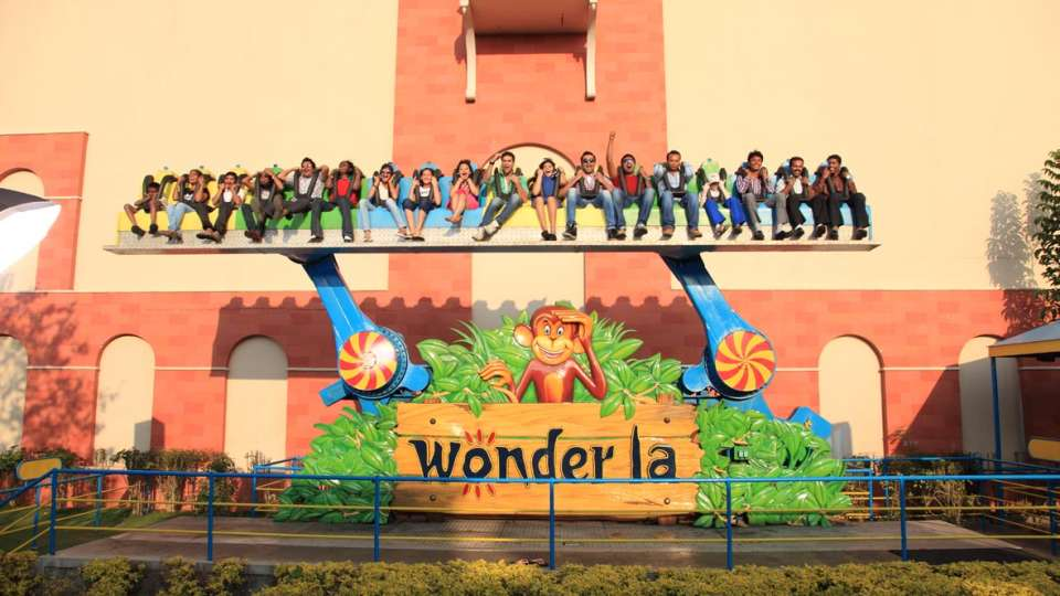 Thriller Rides - Bambo at Wonderla Kochi Amusement Park