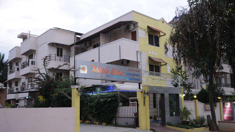 Maple Suites Serviced Apartments, Bangalore Bangalore Facade 1 Maple Suites Serviced Apartments Bangalore