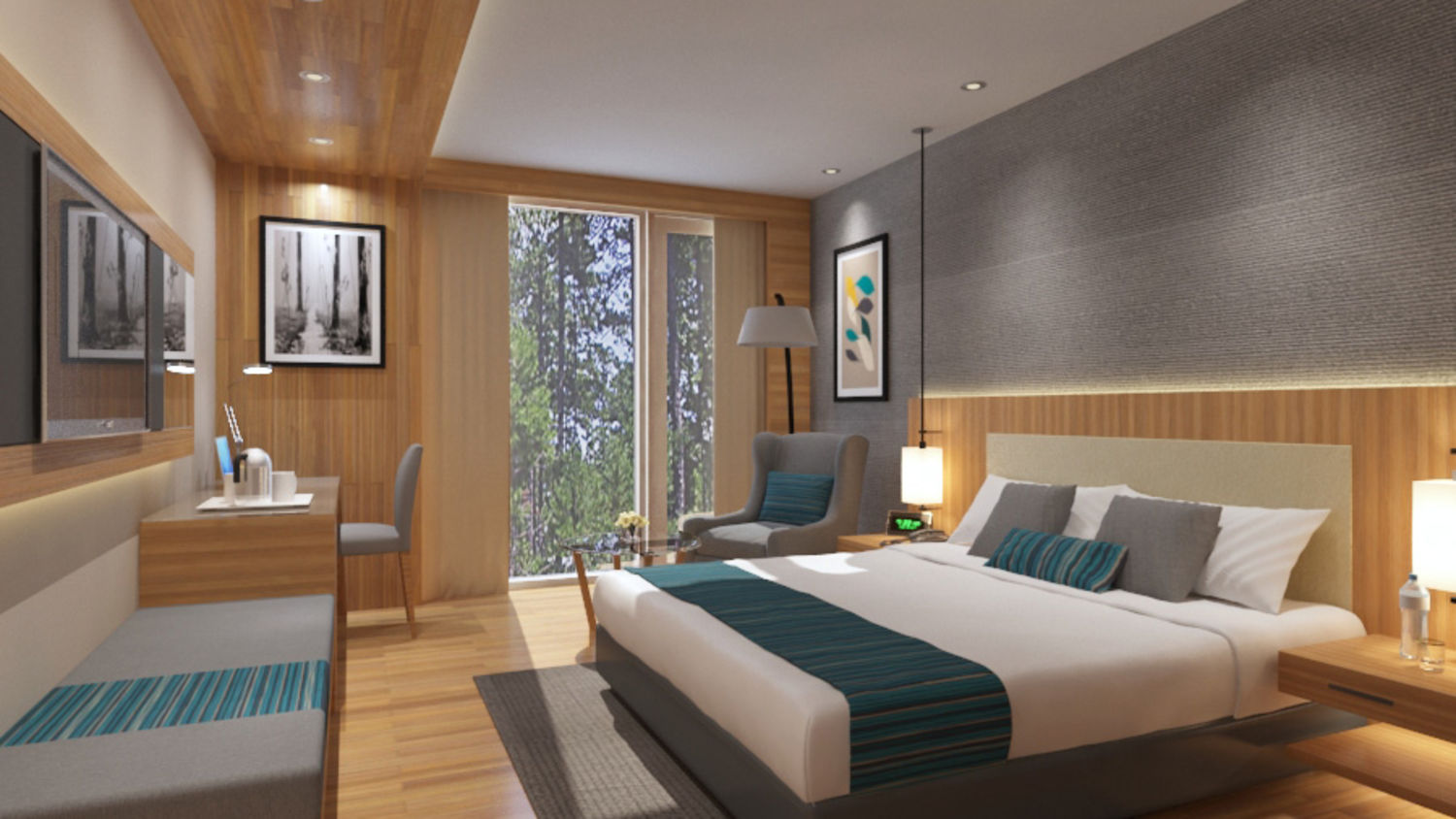 Luxury Rooms in Bhimtal, Stay in Bhimtal, Rosefinch Sarovar Portico, Bhimtal-1