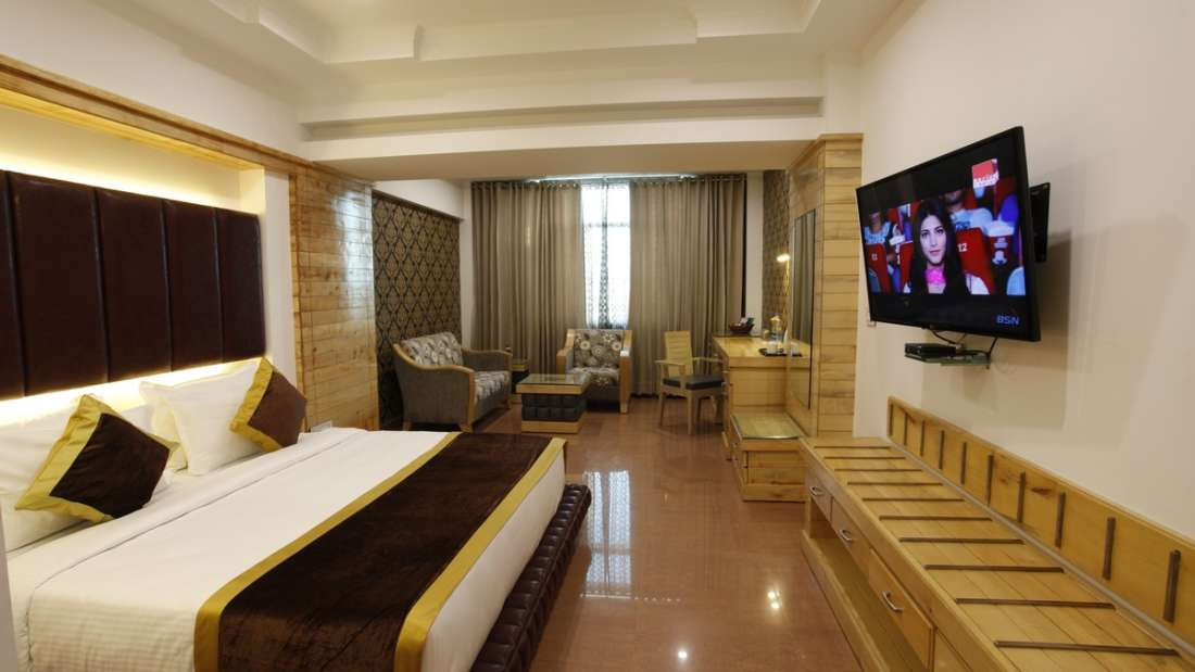 Executive Room Hotel Saffron Dehradun 1