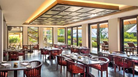 Cafe Samsara, Niraamaya Retreat Backwater and Beyond, Restaurants in Kumarakom