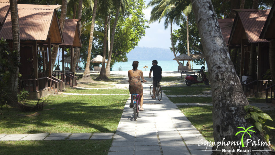 Beach Side rooms at Symphony Palms havelock