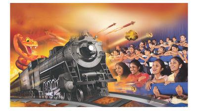 Dry Rides - Cine Magic at Wonderla Kochi Amusement Park