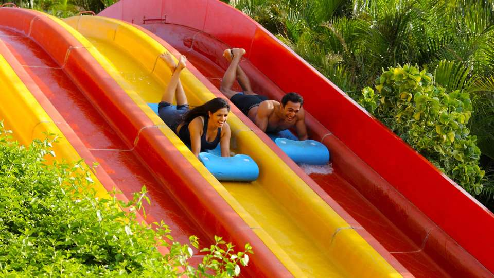 Water Rides - Uphill Racers at  Wonderla Amusement Park Bangalore