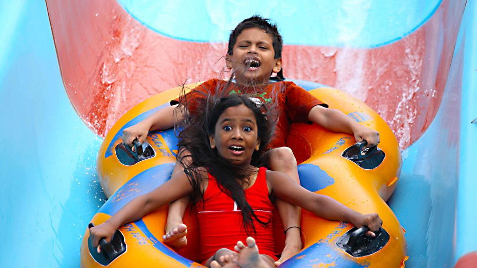 Water Rides - Hara Kiri at  Wonderla Amusement Park Bengaluru