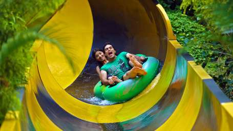 Water Rides - Banded Kraits at  Wonderla Amusement Park Bangalore