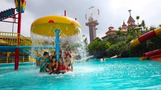 Water Rides - Play Pool  at  Wonderla Amusement Park Bangalore