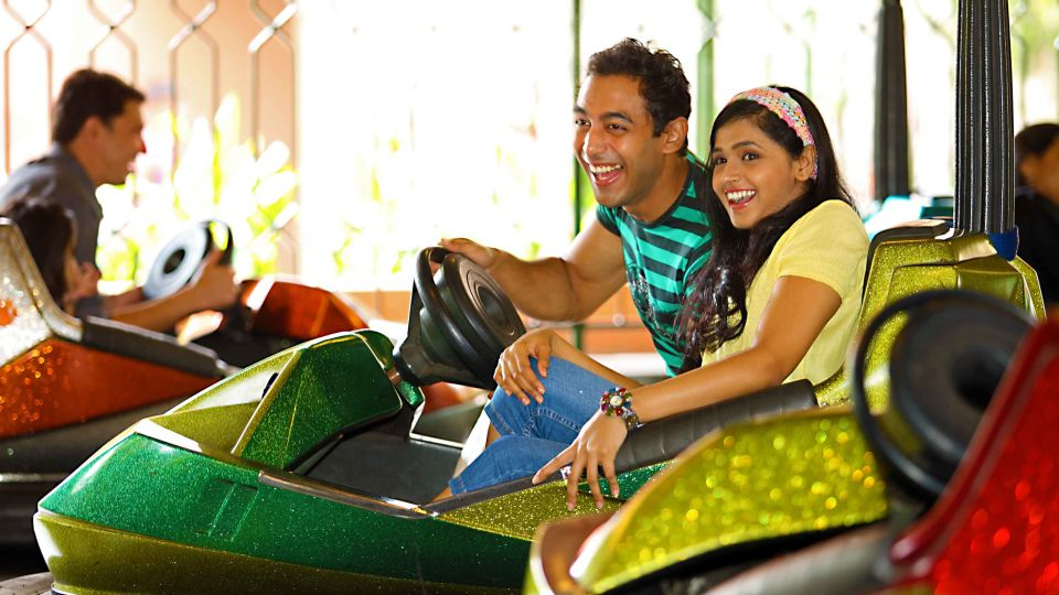 Dry Rides - Crazy Car at  Wonderla Amusement Park Bangalore