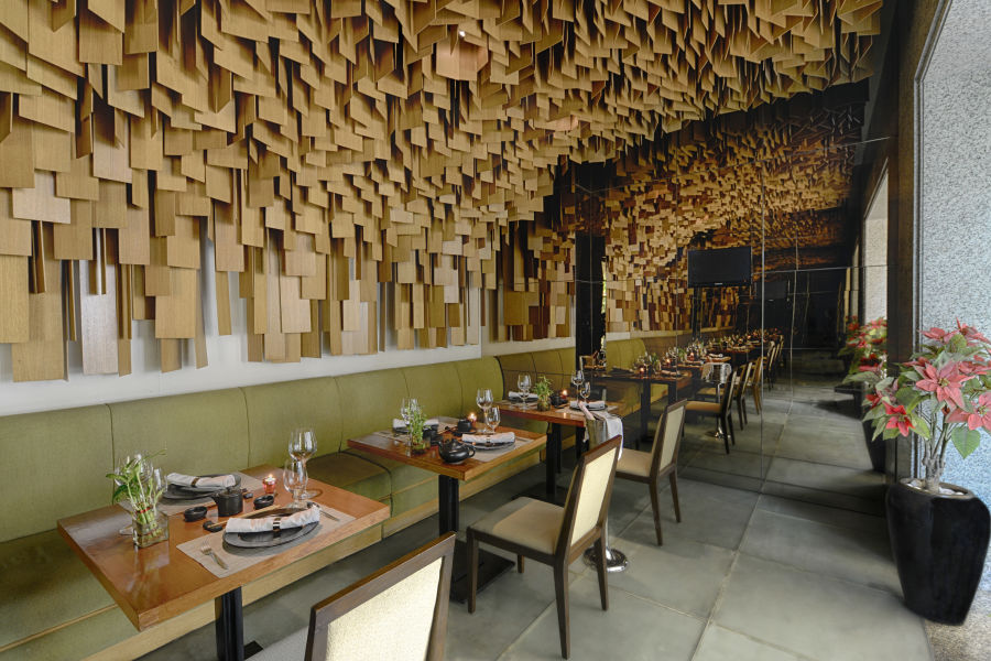 alt-text Woktok Private Dining Room at The Grand New Delhi