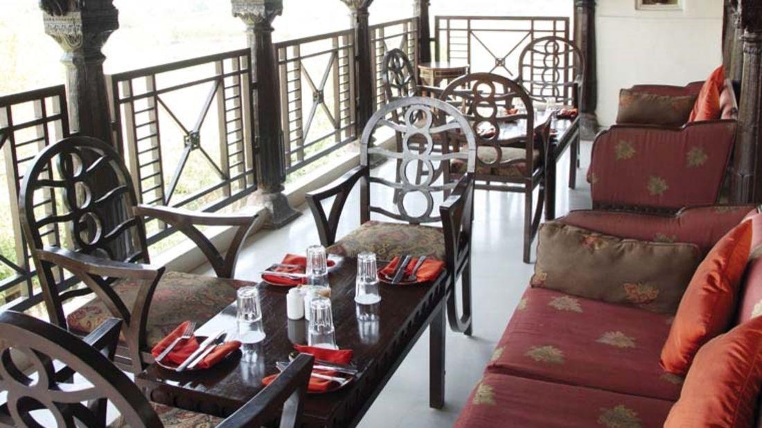 Chhajja of  Fort Jadhavgadh Heritage Resort Hotel Pune