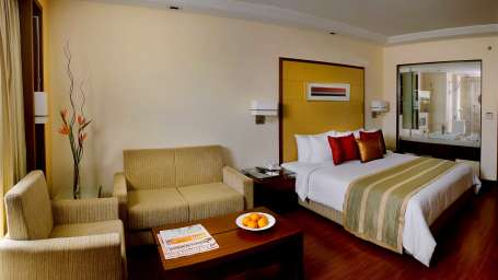 Deluxe Rooms at  Park Inn, Gurgaon - A Carlson Brand Managed by Sarovar Hotels, best hotel in gurgaon 1