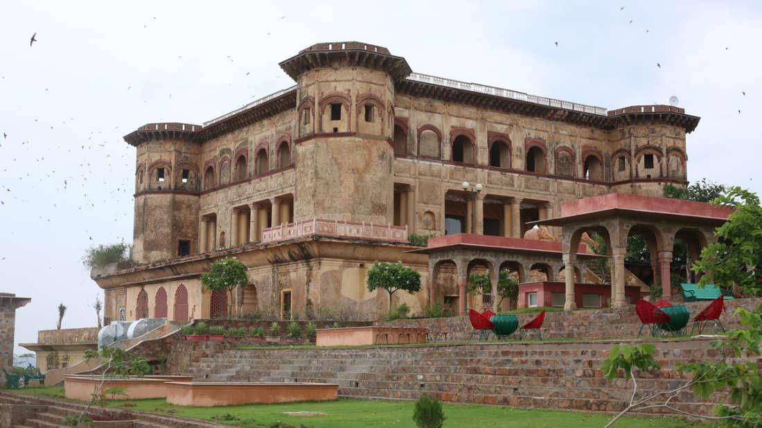 Exterior Hotel_Tijara Fort Palace_Heritage Hotel In Rajasthan 12