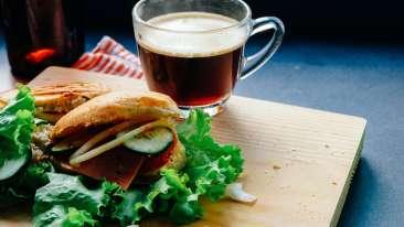 Breakfast at RK Sarovar Portico Srinagar