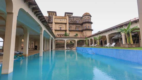Tijara Fort Palace - Alwar Alwar Exterior Facilities Hotel Tijara Fort Palace Alwar Rajasthan 10