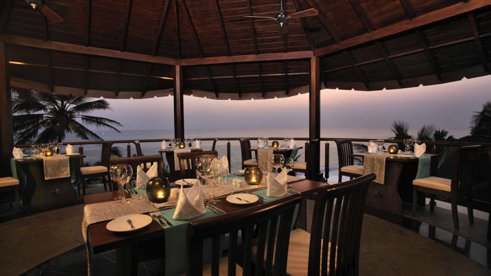 Restaurant at Niraamaya Retreats Surya Samudra, Kovalam Beach Resort 7
