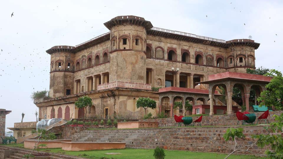 Tijara Fort Palace - Alwar Alwar Exterior Facilities Hotel Tijara Fort Palace Alwar Rajasthan 12