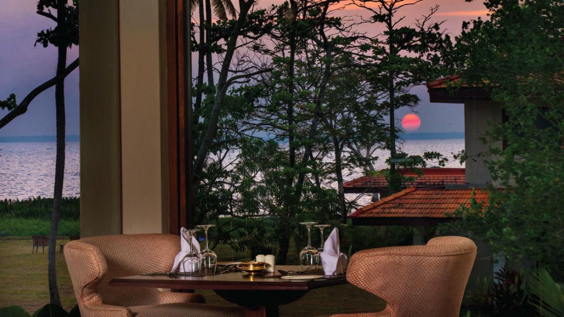 Essence Restaurant, Niraamaya Retreat Backwater and Beyond, Restaurants in Kumarakom