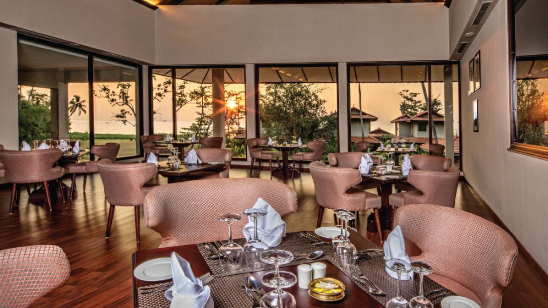 Essence Restaurant, Niraamaya Retreat Backwater and Beyond, Restaurants in Kumarakom 1