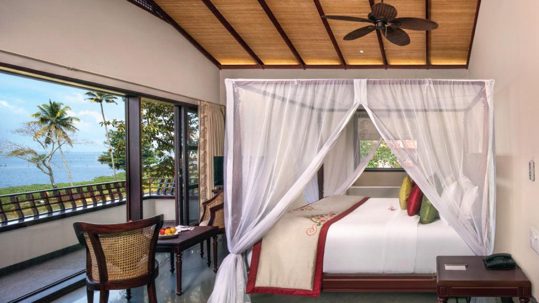 Superior Lake View Villa, Niraamaya Retreats, Resort in Kumarakom