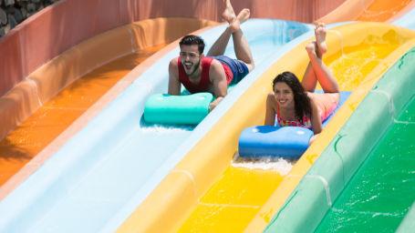 Wonderla Amusement Park, Bengaluru water slides in Bengaluru Wonderla Bengaluru 214Fun Racers 1