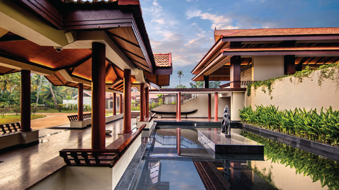 Reception at Niraamaya Retreats Backwaters and Beyond, Resort in Kumarakom 17