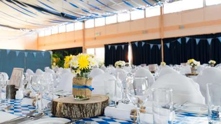 Banquet Hall at Summit Thistle Villas Luxury Spa Resort Mashobra