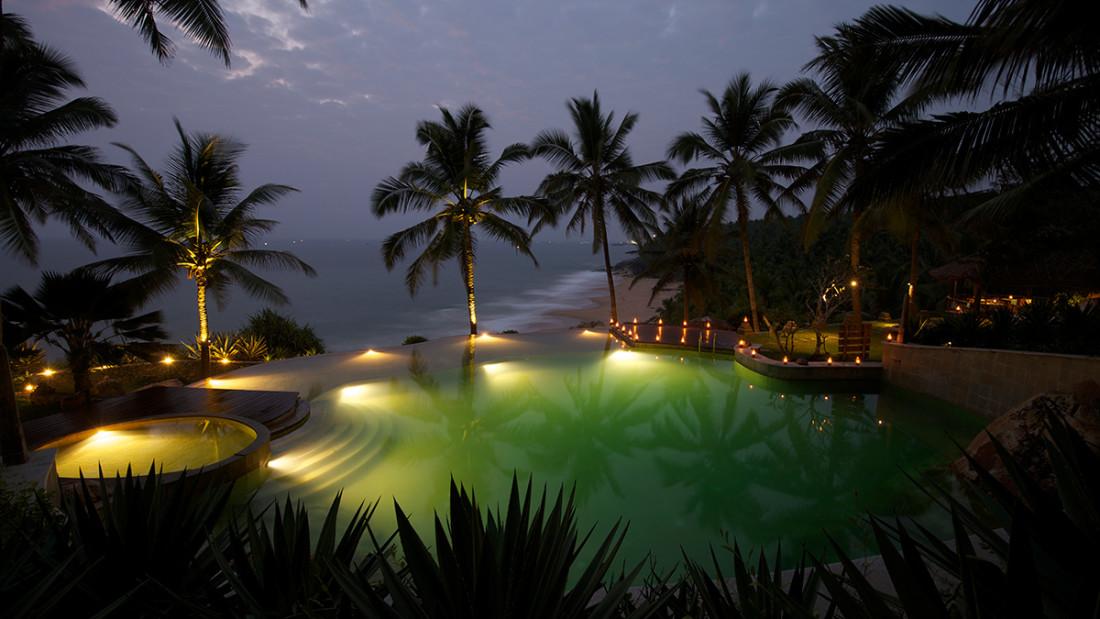 Pool at Niraamaya Surya Samudra Resorts in Kovalam 2