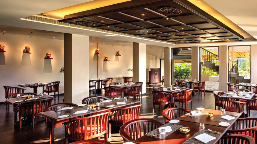 Cafe Samsara, Niraamaya Retreat Backwater and Beyond, Restaurants in Kumarakom 1