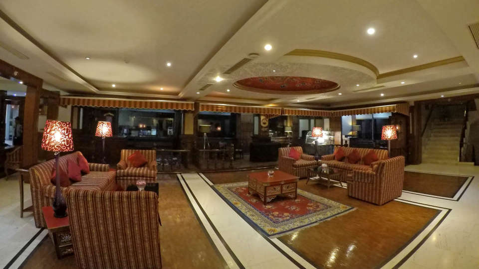 Lobby at The Royal Plaza Gangtok Hotel, best gangtok hotels 1