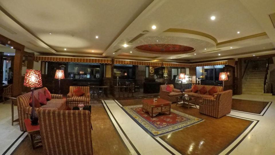 Lobby at The Royal Plaza Gangtok Hotel, best gangtok hotels 1