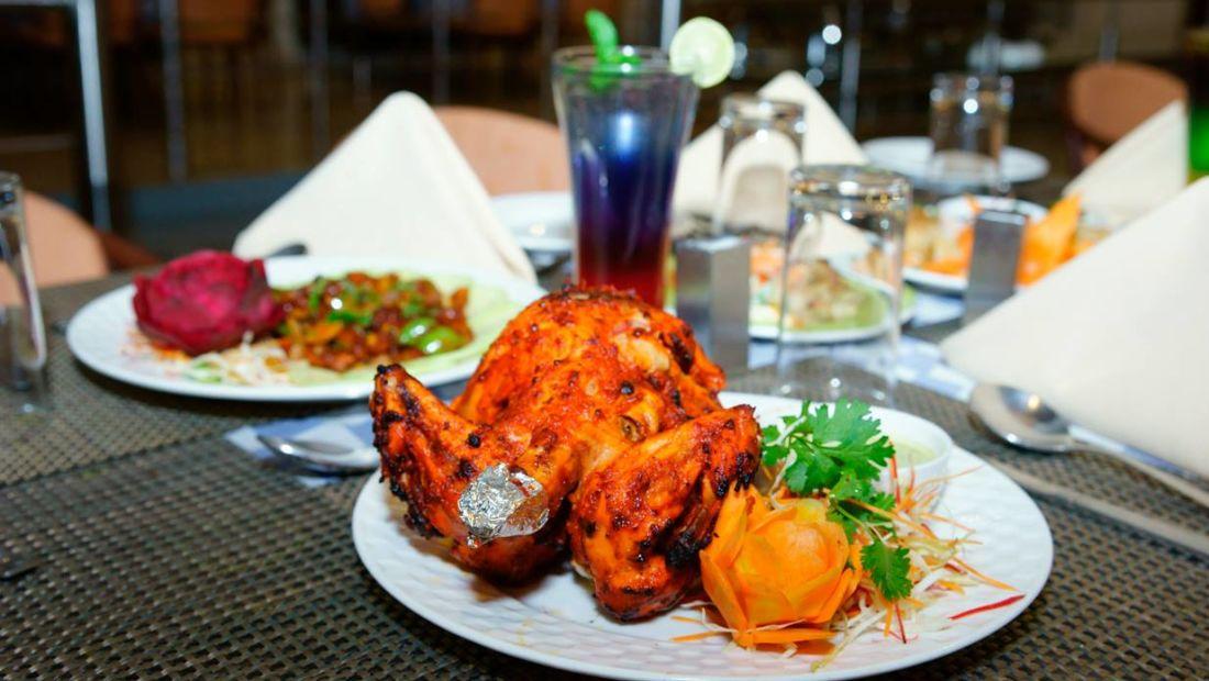 restaurant at Gautam Vihar Resort Rajgir