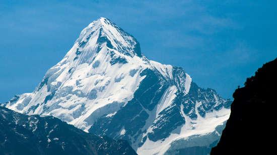 Gangotri Glacier Shaheen Bagh. Char dham temples