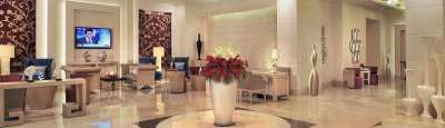 Reception Lobby Radisson Hyderabad Hitech City Hyderabad 2