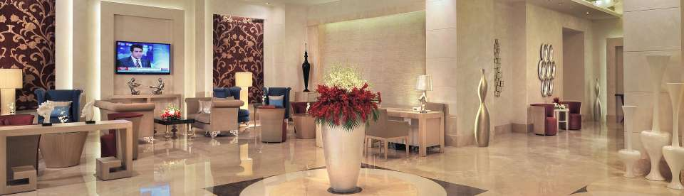 Reception Lobby Radisson Hyderabad Hitech City Hyderabad 2