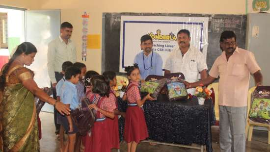 csr education scholastic