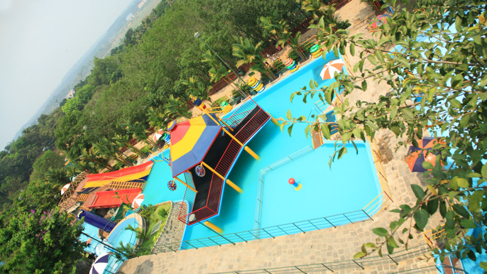 Water Rides - Play Pool at Wonderla Kochi Amusement Park