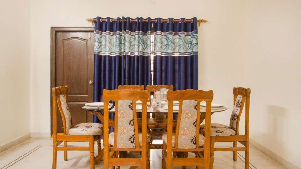 Living area at Hotel NirmalVilla Cherry Service Apartment - Begumpet Hyderabad 5