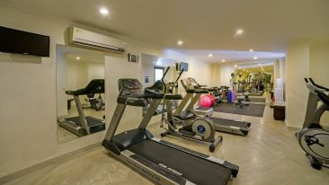 Fitness Center at Hotel Royal Sarovar Portico Siliguri Hotels