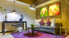 EXECUTIVE WORK STATION at Davanam Sarovar Portico Suites Bangalore