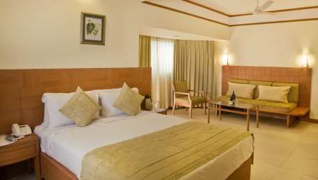 Deluxe Rooms, Hotel Rooms in Goa at Lotus Eco Beach Resort Benaulim Goa
