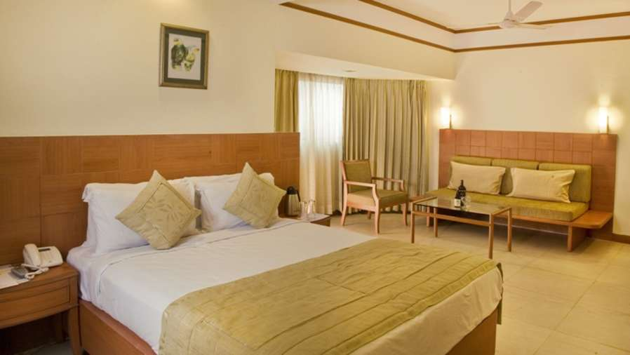 Deluxe Rooms, Hotel Rooms in Goa at Lotus Eco Beach Resort Benaulim Goa