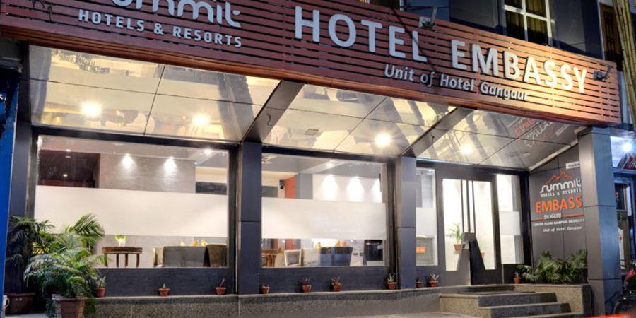 alt-text Facade Mount Embassy Hotel Siliguri Hotels in Siliguri