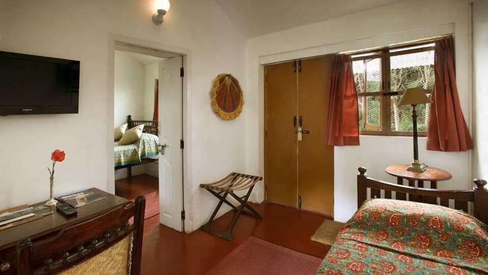 Wallwood Garden - 19th C, Coonoor  The Red Cedar Room Wallwood Garden Coonooor Tamil Nadu