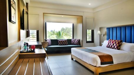 Superior Room- Garden View at Purple Cloud Hotel - The Smart Bangalore Airport City Hotel 2