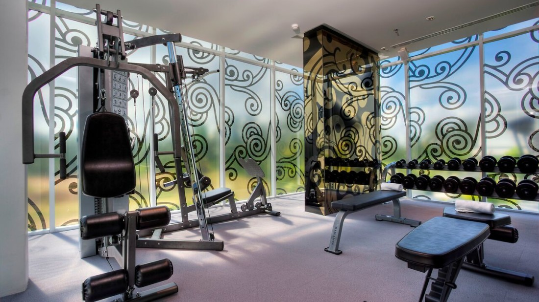 Gym Natai Beach Resort Spa Phang Nga Thailand Phuket Gyms